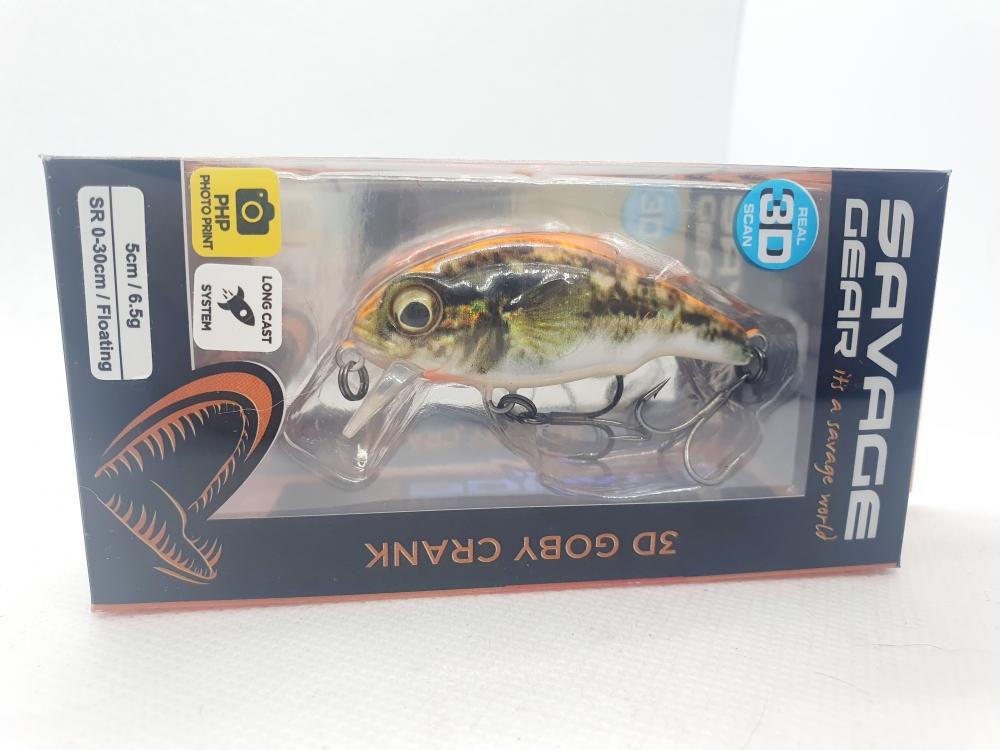 Savage gear 3D Goby crank 5cm - 6,5g