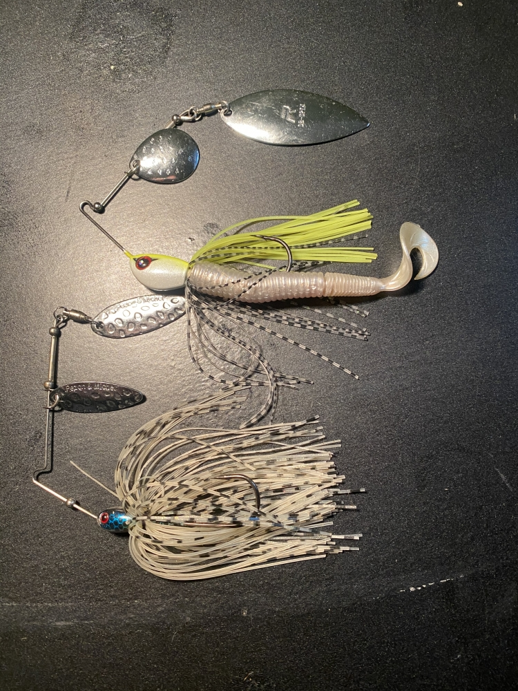 Lot de 2 spinnerbait