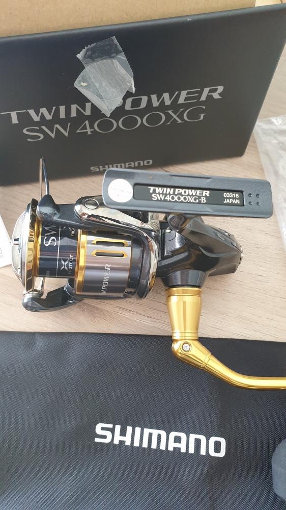 Moulinet Shimano Twin Power 4000SW XG