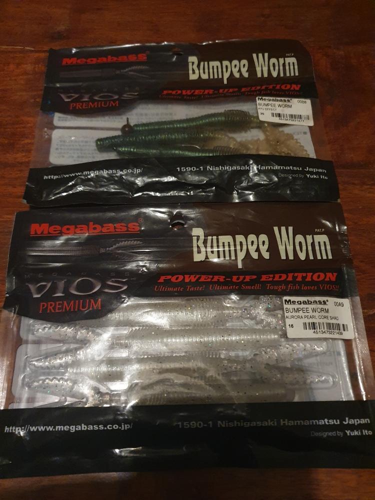 Megabass Bumpee worm
