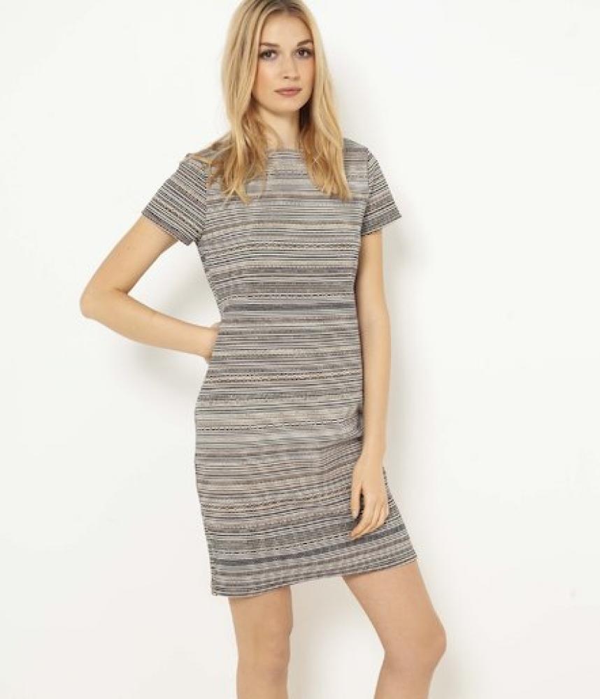 Grey Stripes Robe
