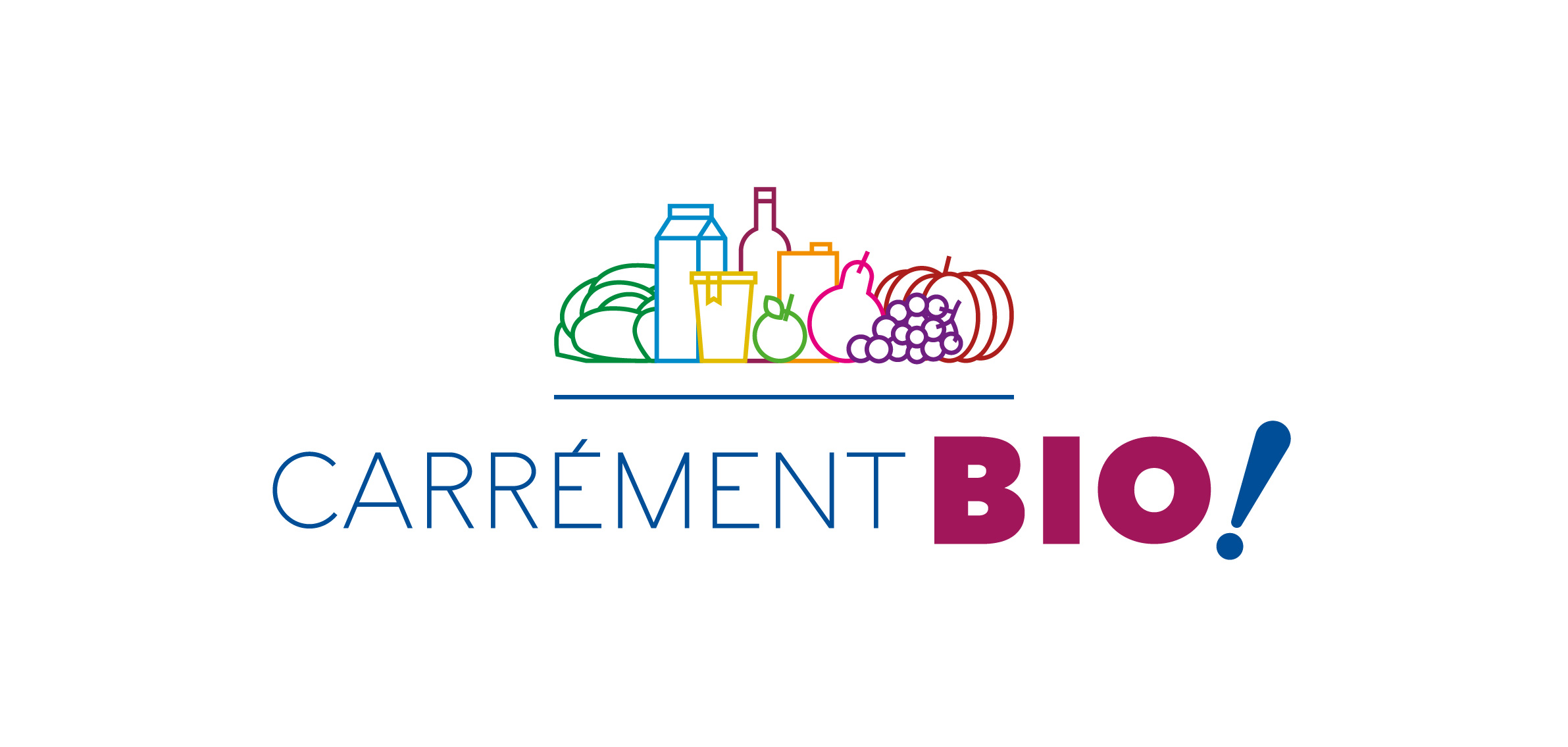 Logo Carrément Bio !, vente direct producteur à Saint-Cannat