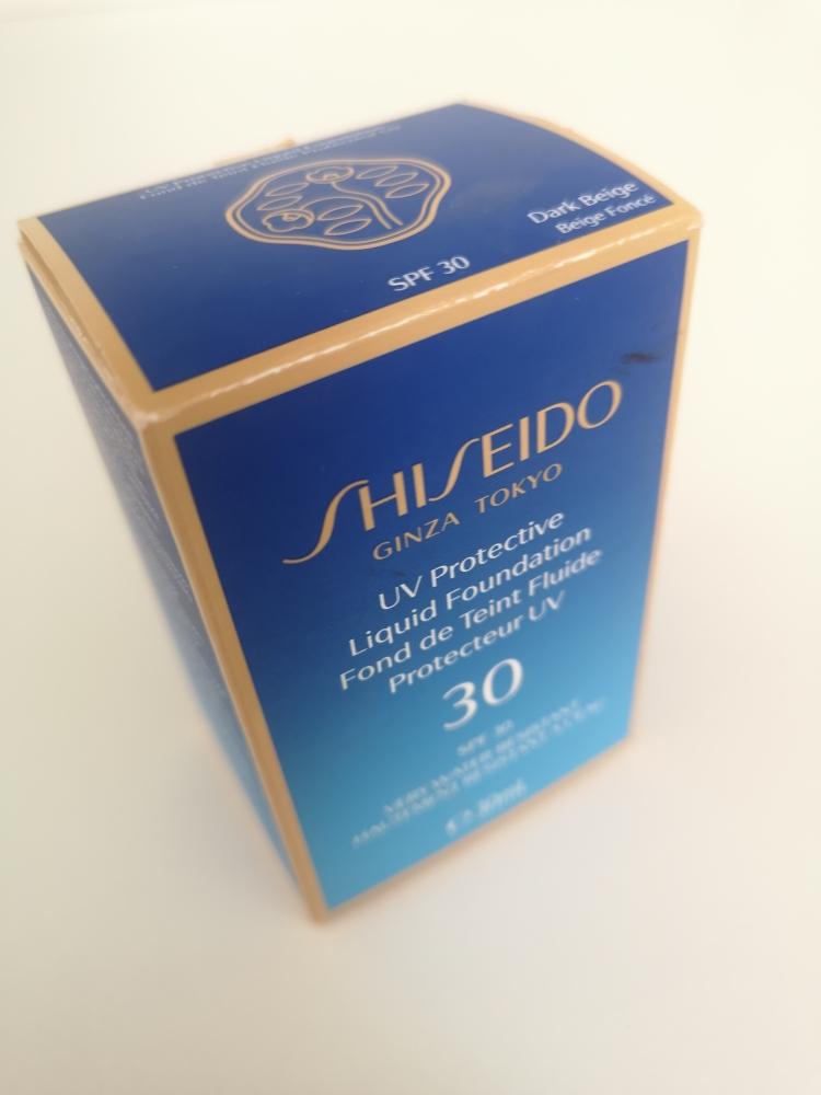 Shiseido liquid foundation SPF 30