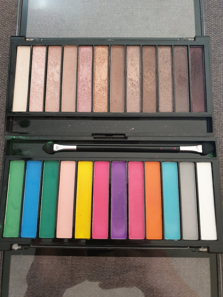 Pack paletas Makeup Revolution