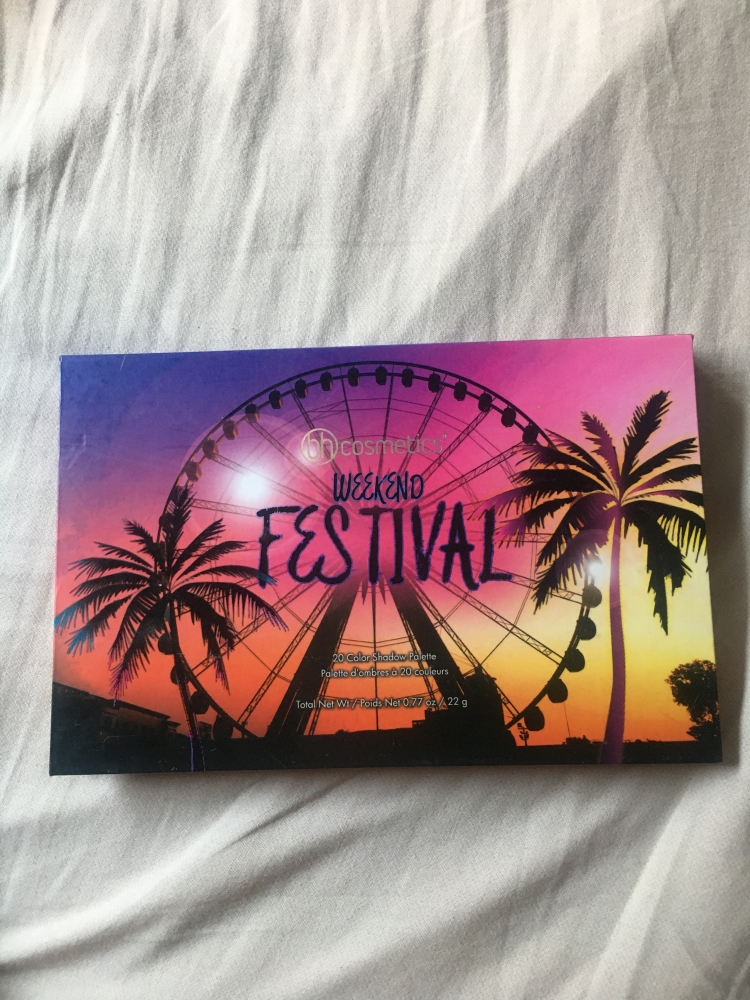 Bh cosmetics weekend festival