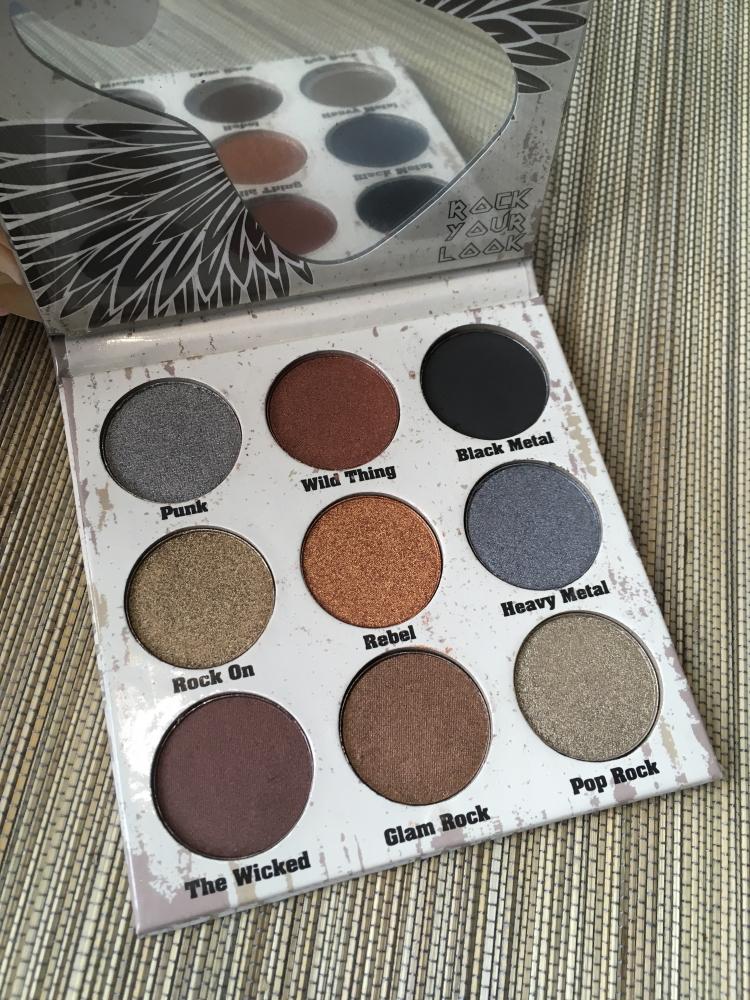 Glam metals palette Crown Pro