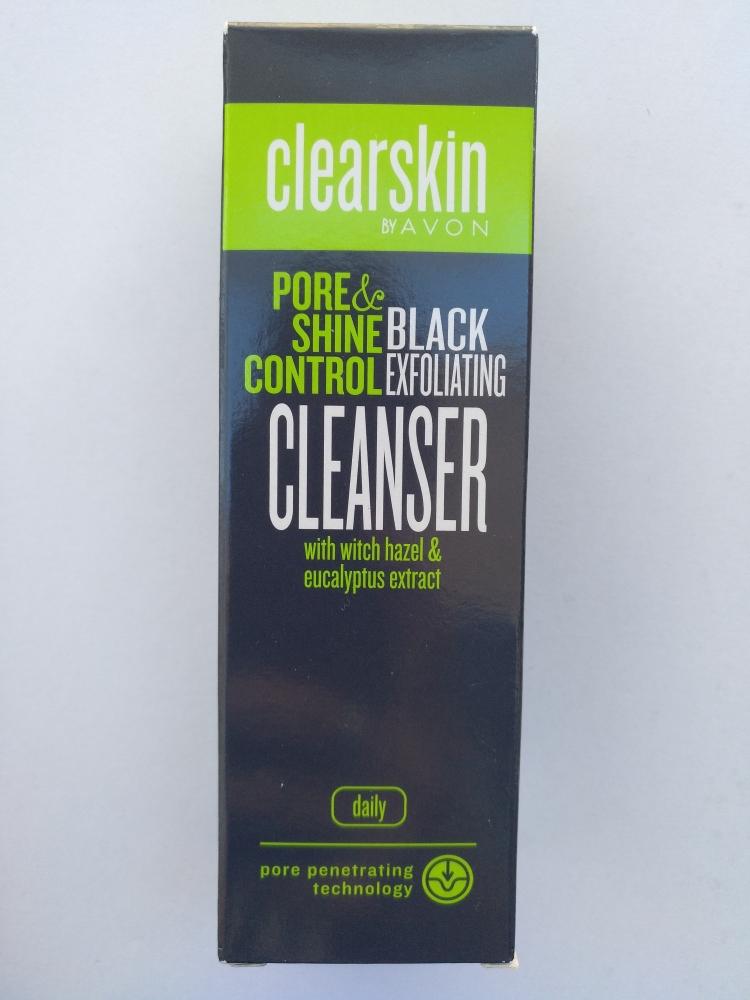 Limpiador exfoliante poros Mineral Negro Clearskin AVON