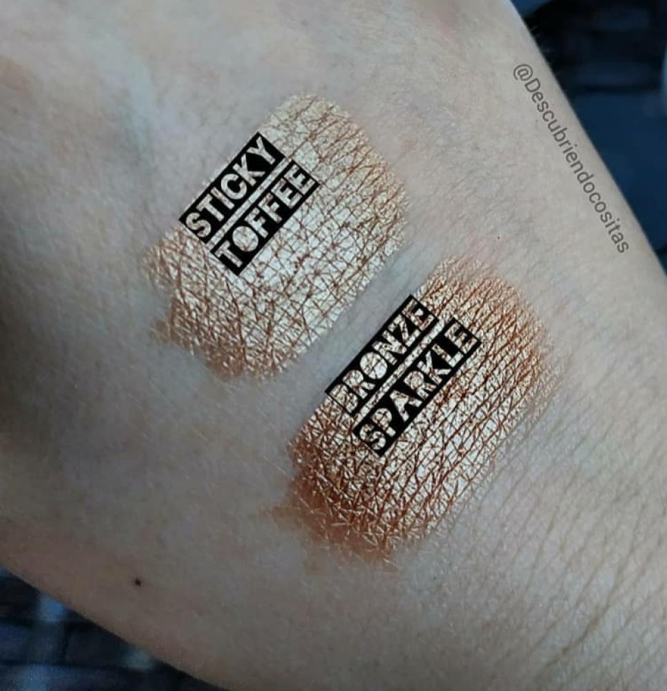 SET de sombras minerales naturales Lily Lolo tonos: Bronze Sparkle / Sticky Toffee