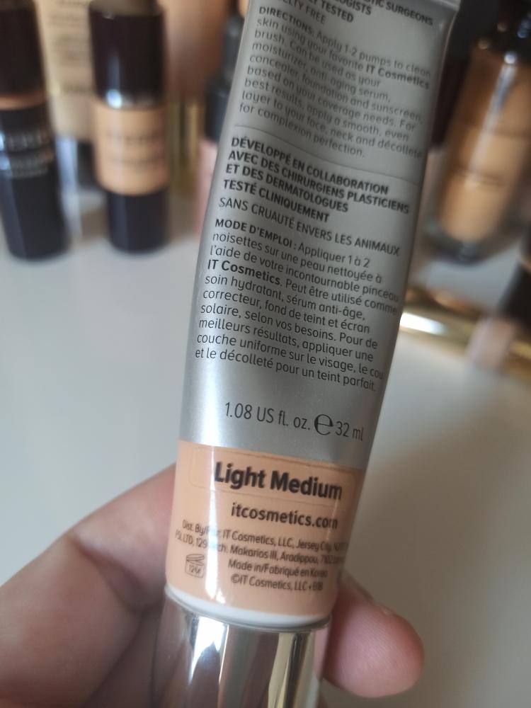 IT Cosmetics CC cream Light/Medium