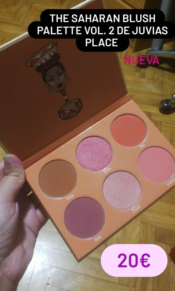 The saharan blush Palette Vol. 2 Juvias place