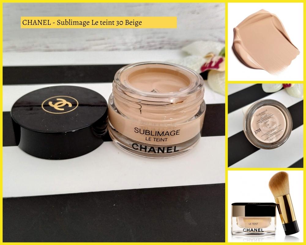 CHANEL SUBLIMAGE LE TEINT Nº 30 beige 15gr
