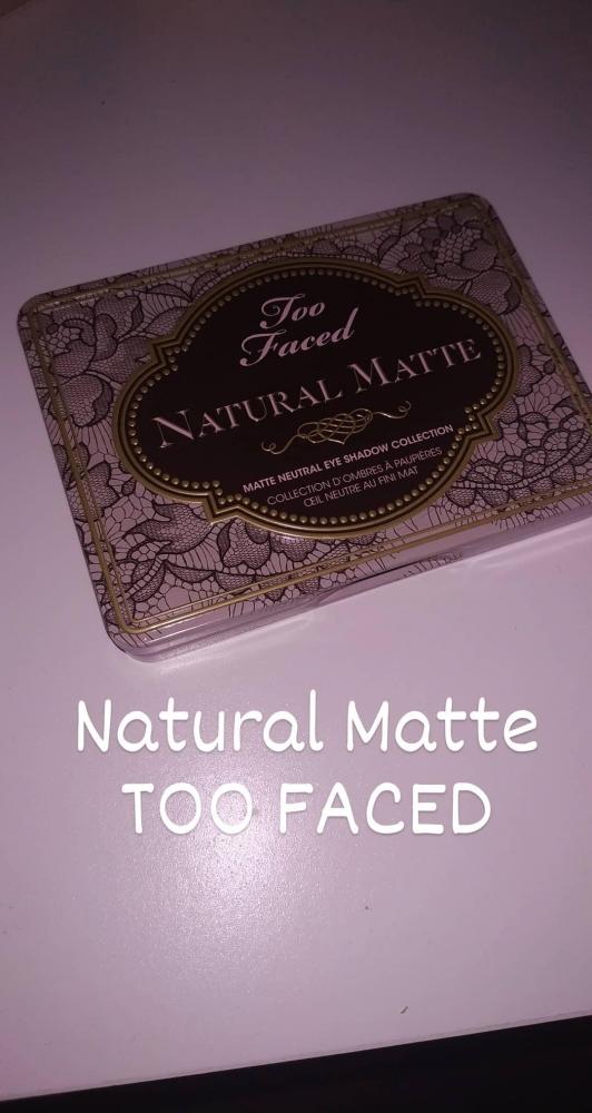 Natural Matte Palette de TOO FACED
