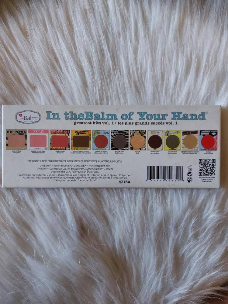 Paleta the balm