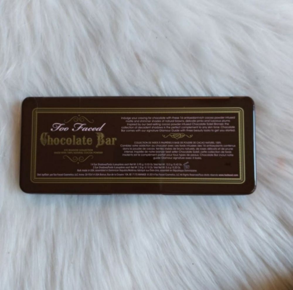 Paleta IMITACION  de Too Faced