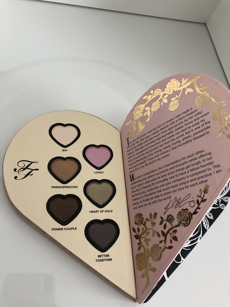Paleta ojos Better together Kan Von D & Too Faced