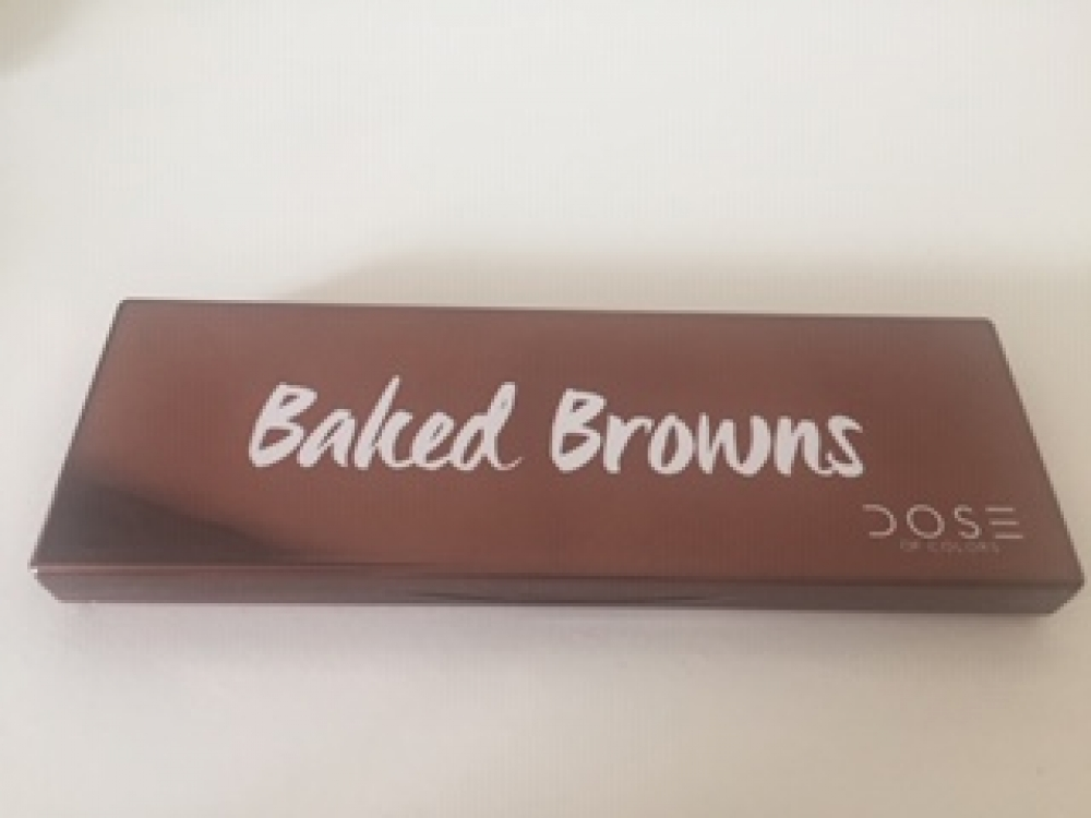Paleta ojos DOSE OF COLORS BAKED BROWNS