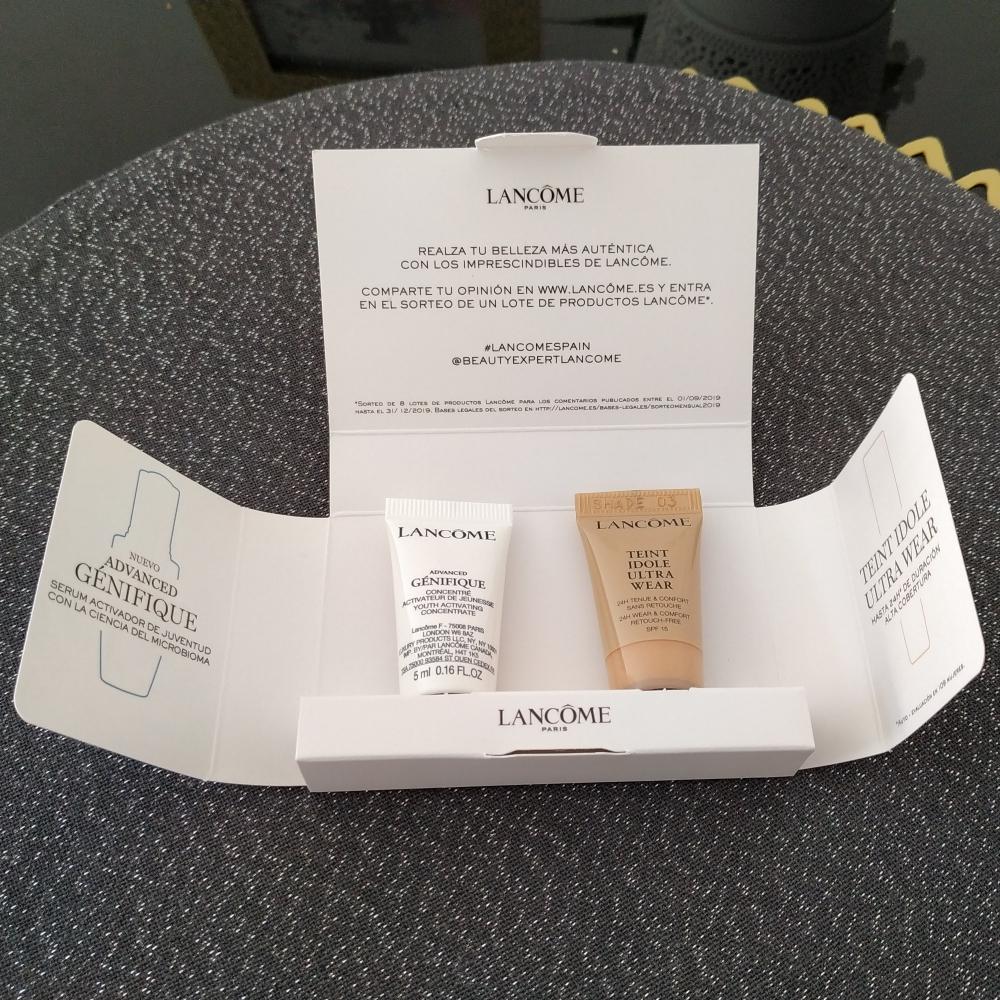 Lancome Pack Serum + Maquillaje