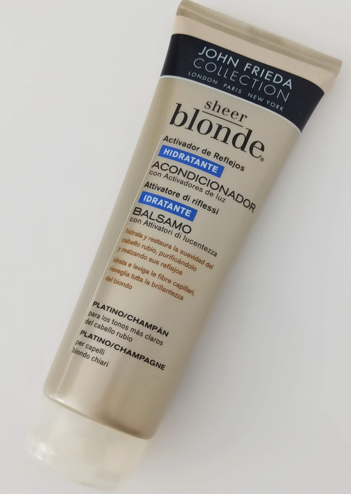 Acondicionador SHeer Blonde Jonh Frieda