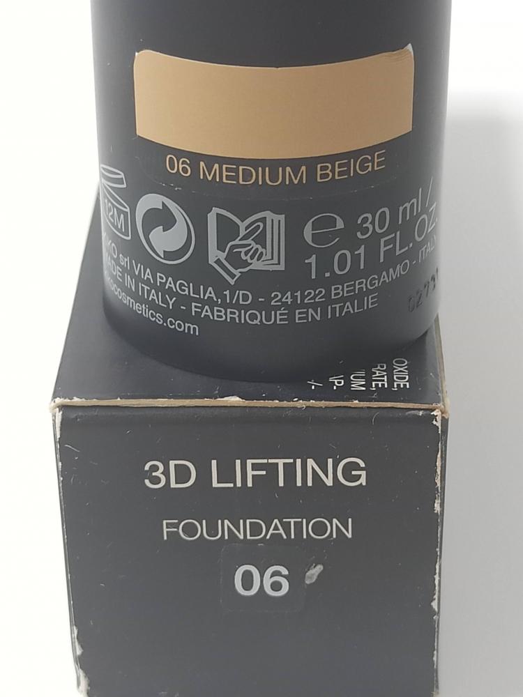 Base de Maquillaje  3D lifting KIKO