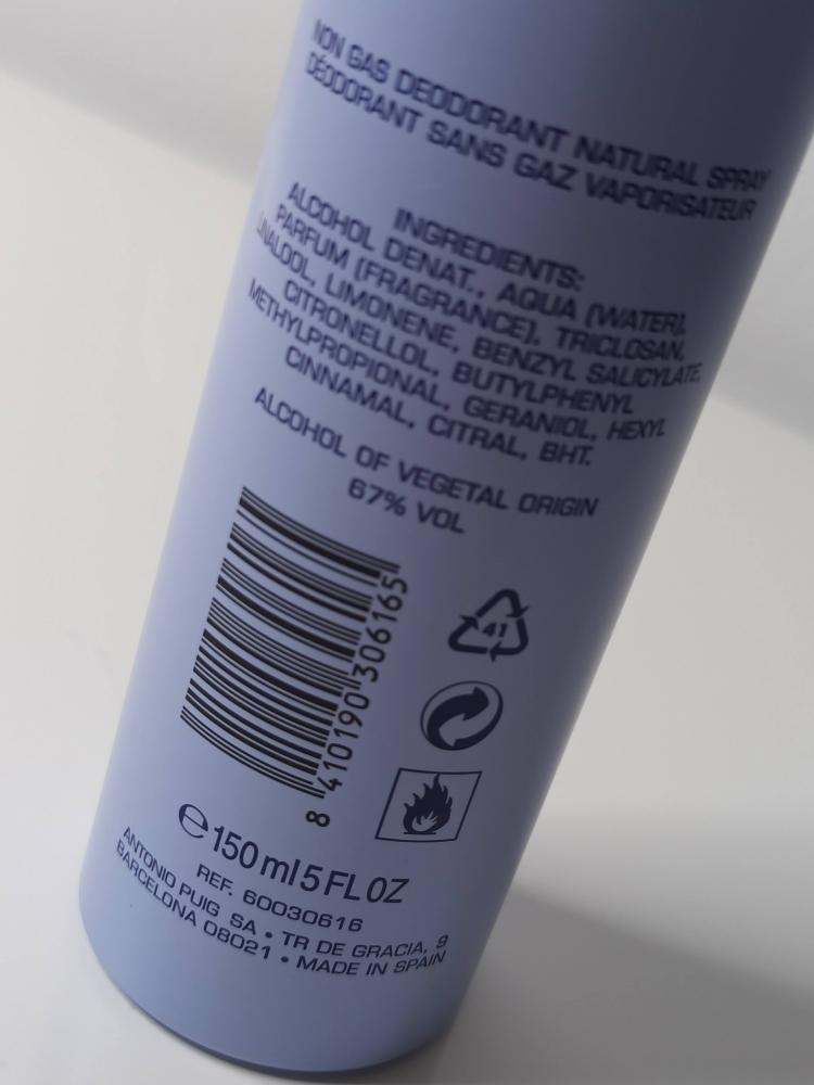 Desodorante sin gas  150 ml ADOLFO DOMINGUEZ