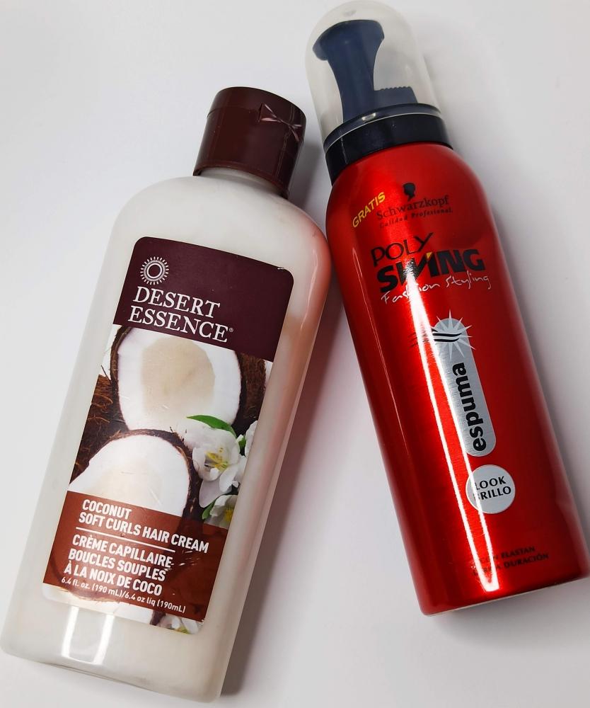 SET crema de peinado y espuma