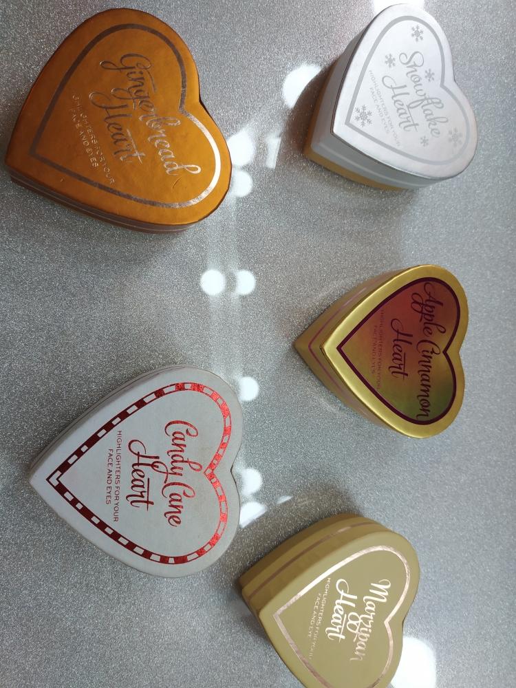 Set corazones