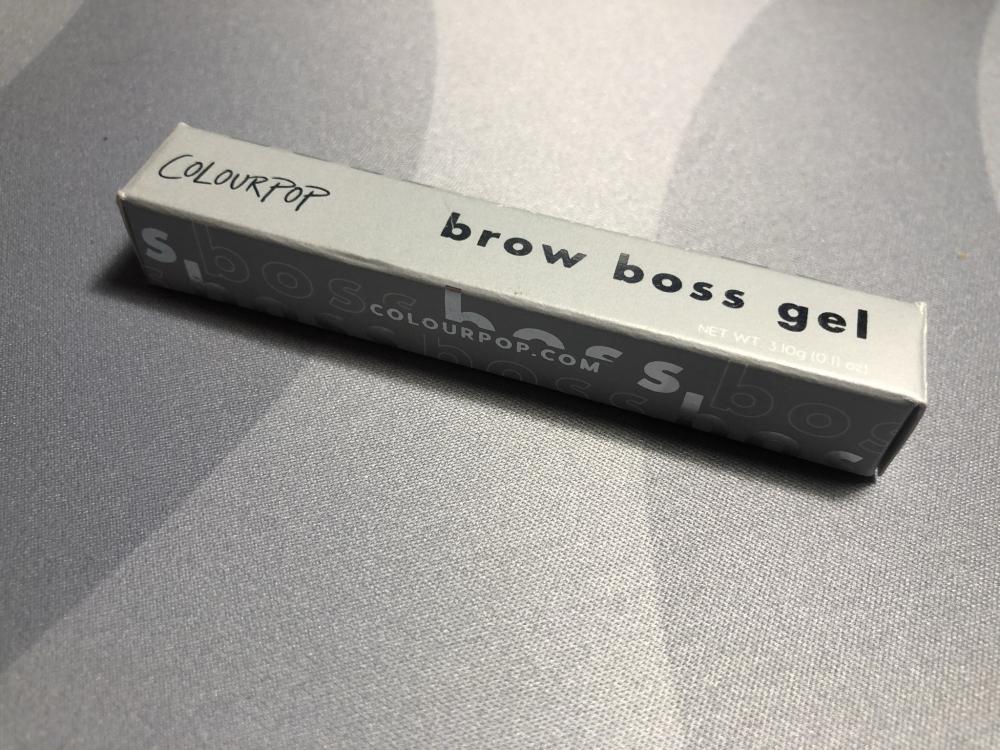 Brow Boss Clear Gel de Colourpop