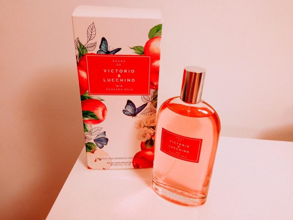 Agua frutal Victorio & Lucchino Nº14 Manzana roja