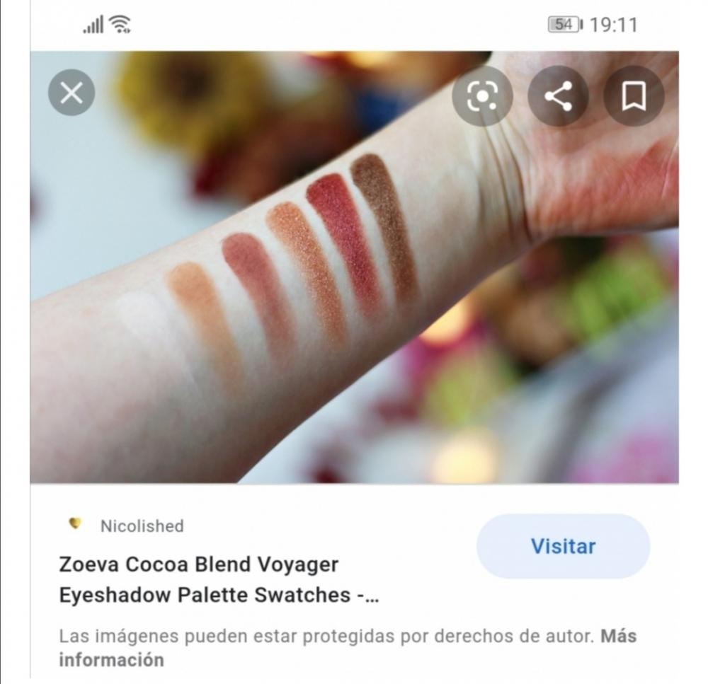 ZOEVA Voyager Cocoa Blend