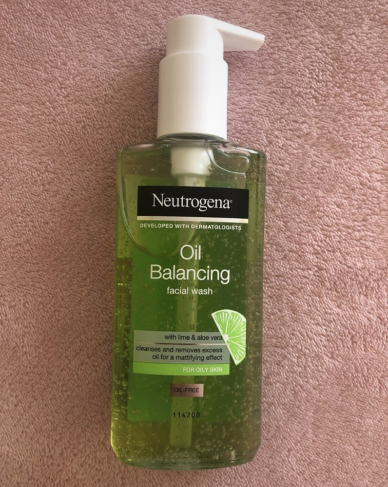 Neutrogena  Oil Balancing Limpiador Facial