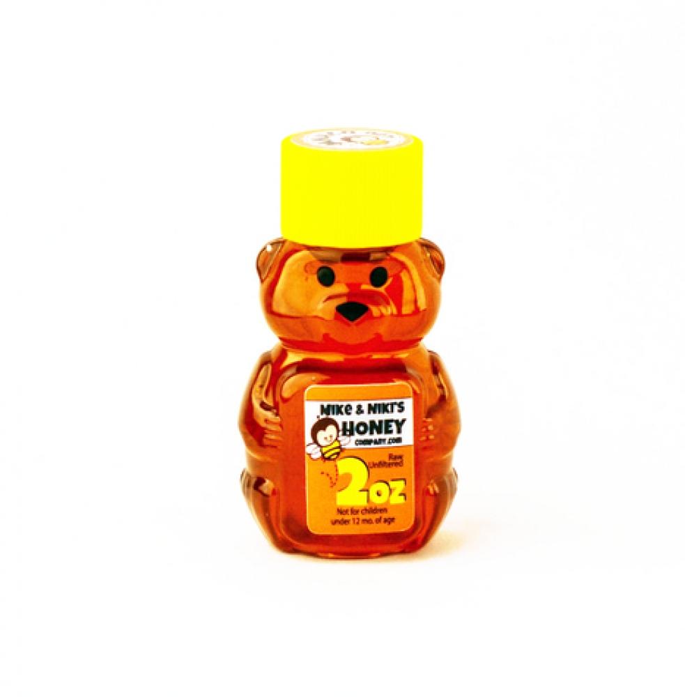 Honey, 2 oz Plastic Bear