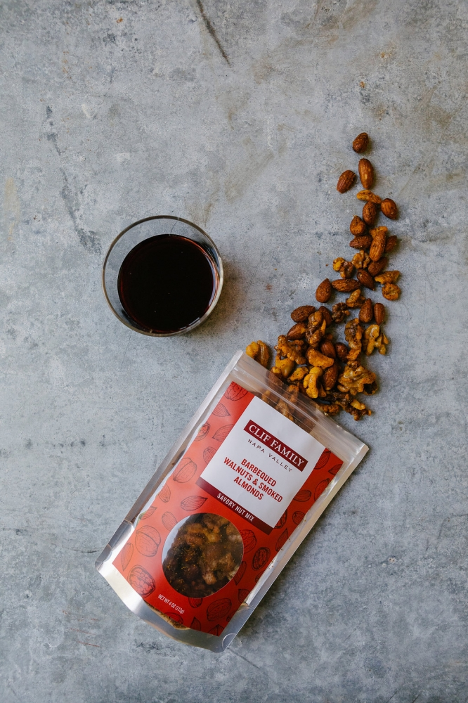 Barbequed Walnuts & Smoked Almonds 4oz (Case 12)