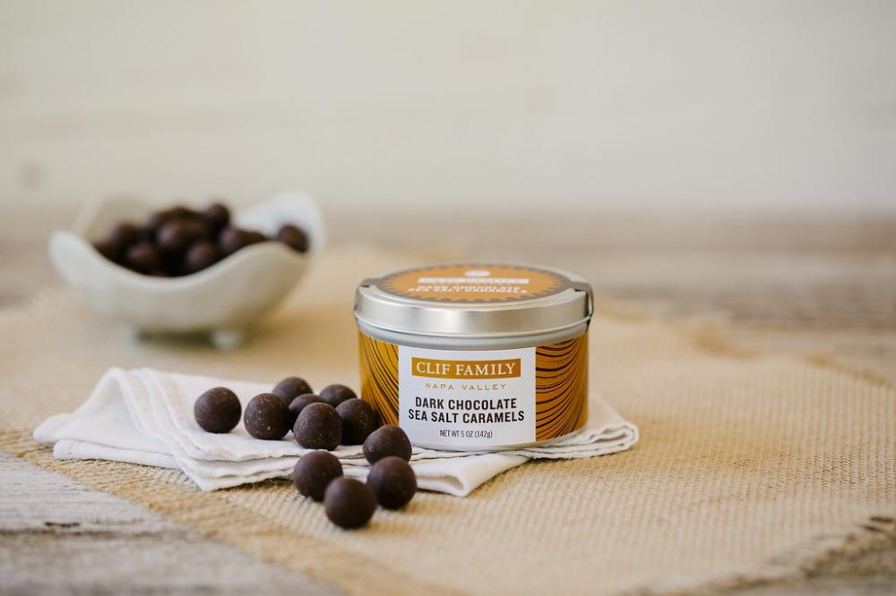 Dark Chocolate Sea Salt Caramels (Case 24)