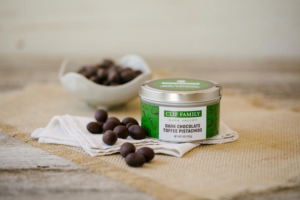 Dark Chocolate Toffee Pistachios (Case 24)