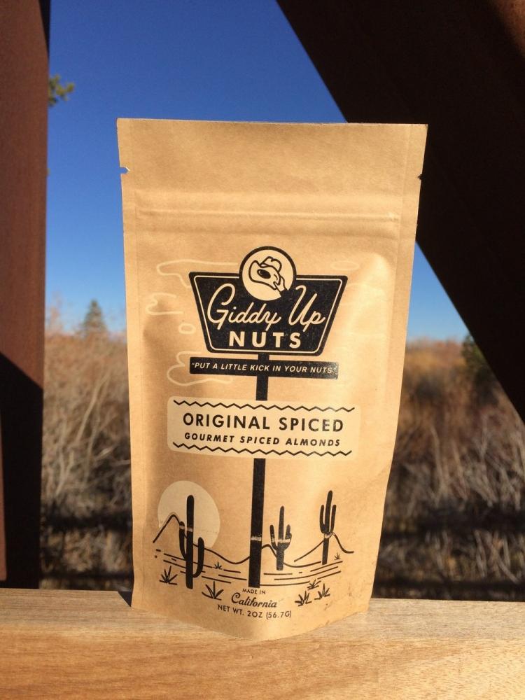 Original Spice Almonds, 2 oz. (Case of 12)