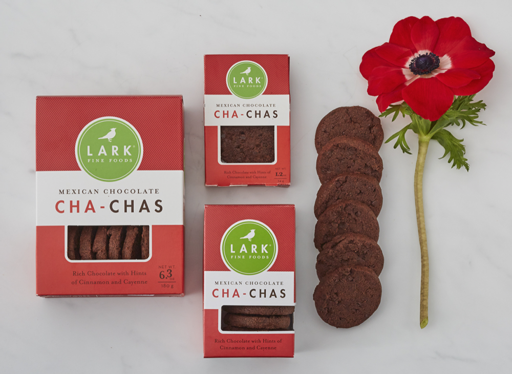 Mexican Chocolate Cha-Chas Small Box 3.2 oz. (case of 12)