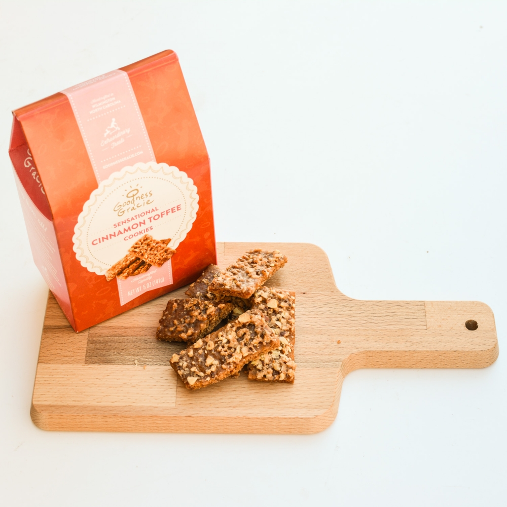 Goodness Gracie Toffee Cookie Mixed Case, 5 oz. Tote Cartons (case of 12)
