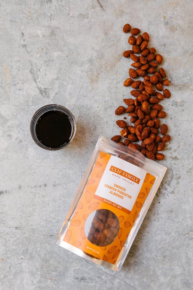 Smoked Spanish Pimenton Almonds 4oz (Case 12)