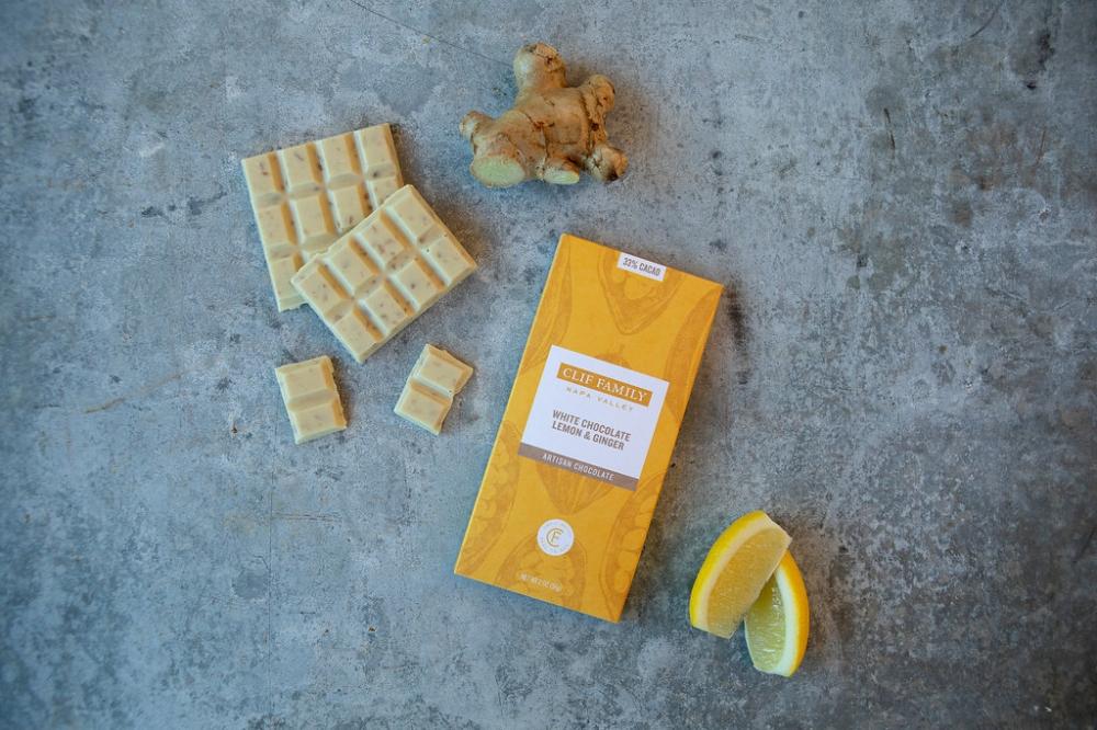 White Chocolate Lemon & Ginger 2oz Bar (case of 12)
