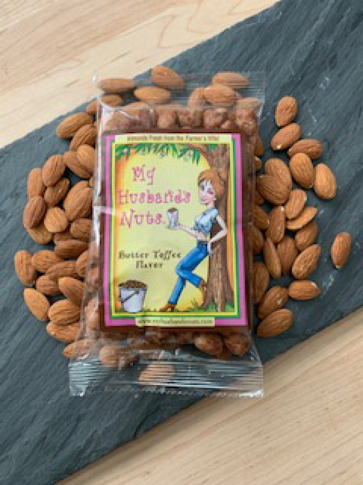 Butter Toffee Almonds 5oz