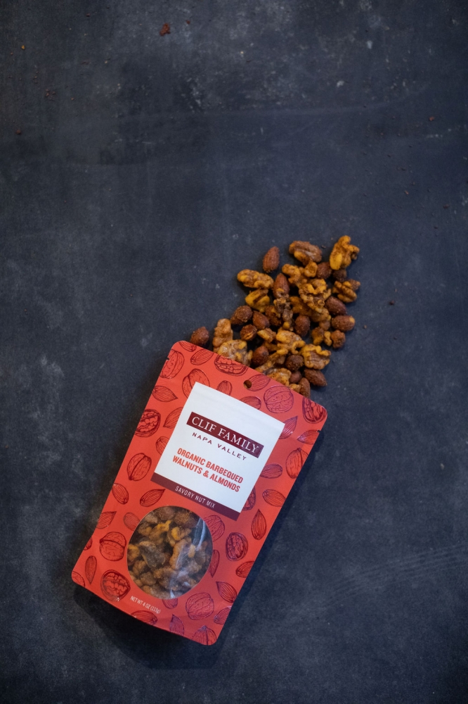 Organic Barbequed Walnuts & Smoked Almonds 4oz (Case 12)