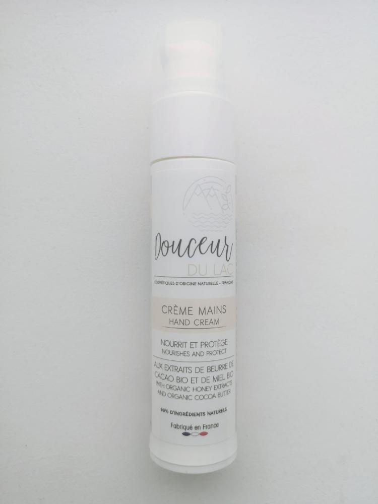 Crème pour les mains- 99% d'ingrédients naturels et bio (Hand cream)
