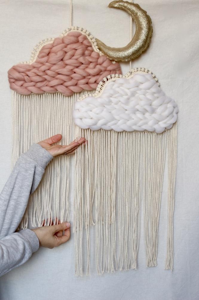 GABRIEL - Nuage cocooning - Nuage macramé - Décoration intérieure - Cloud
