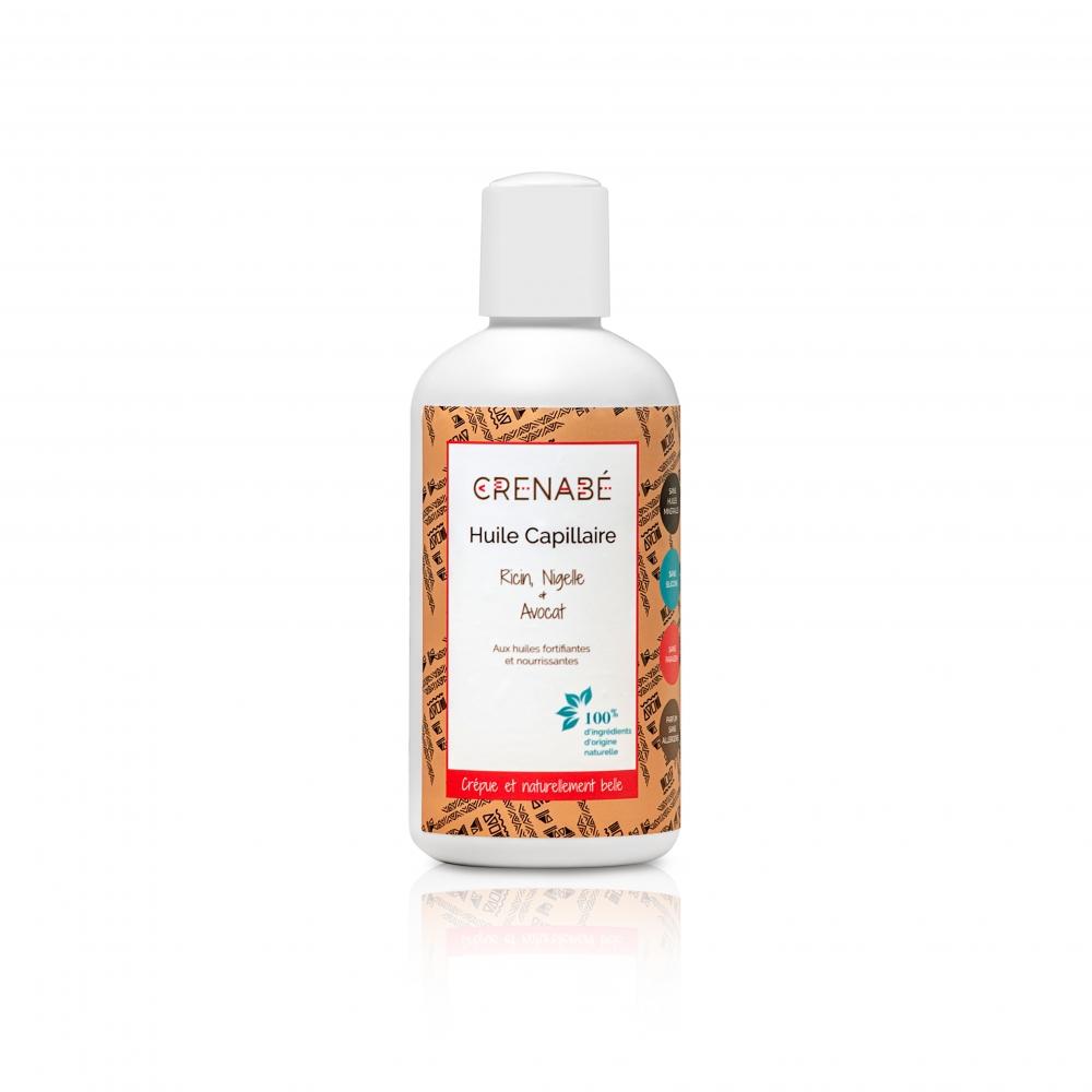 Huile capillaire - Ricin, Nigelle & Avocat