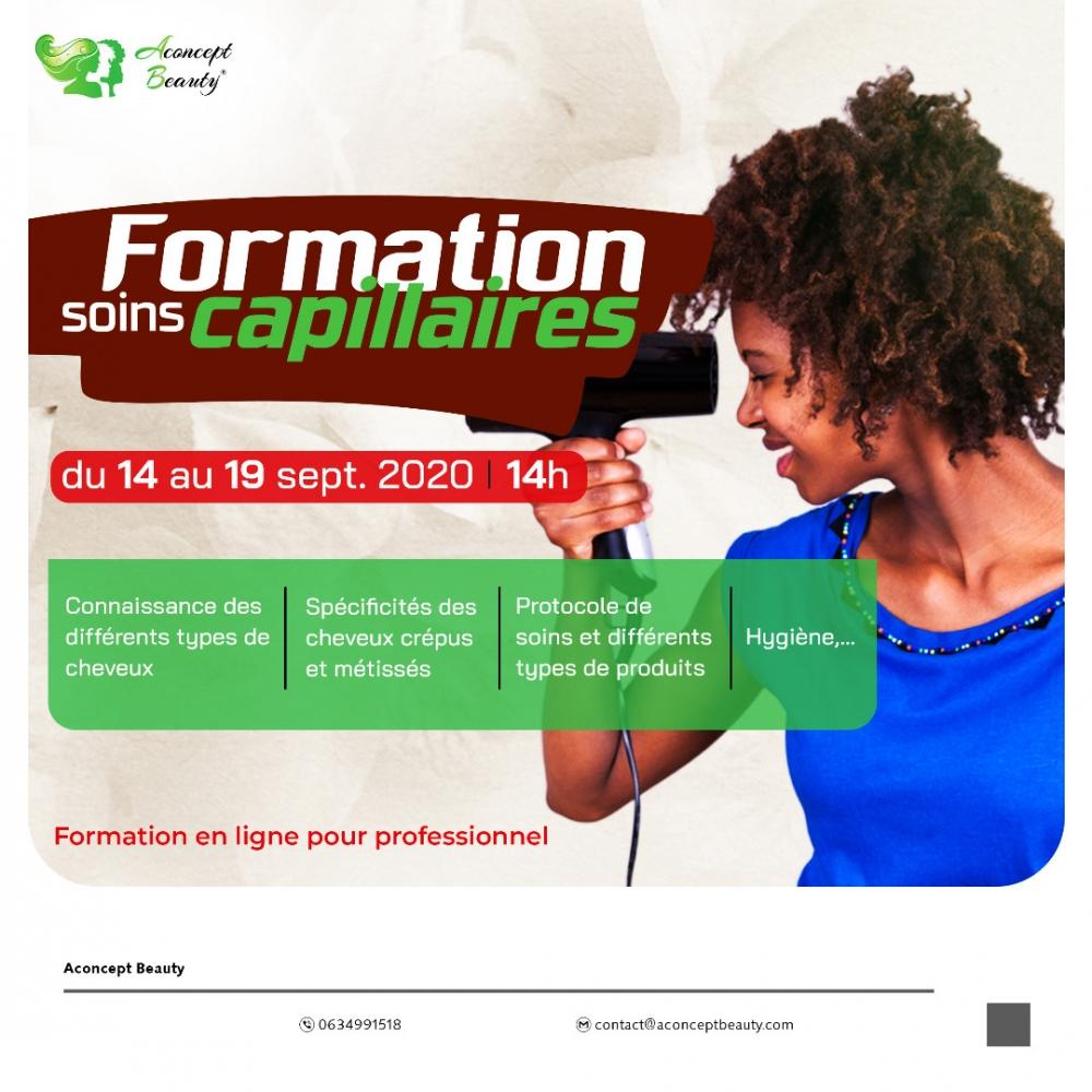 Soins Capillaires – Formation en ligne – Public Professionnel