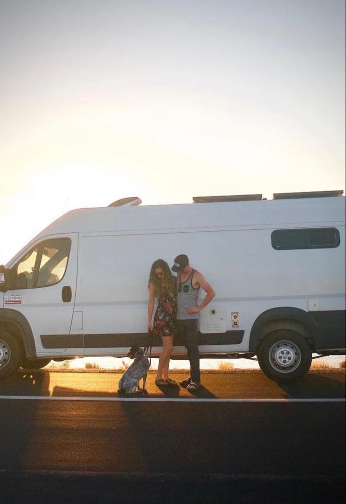 Van Layout & Dimensions