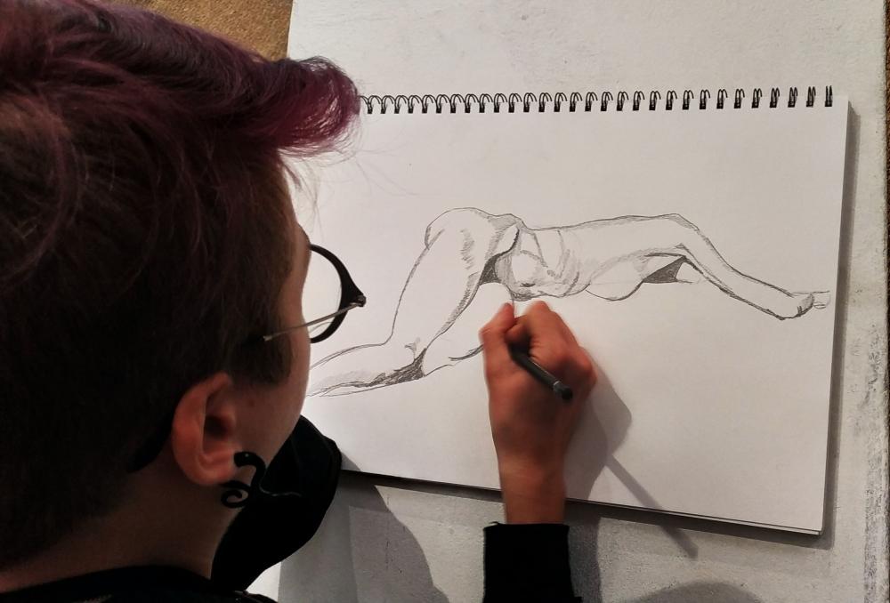 Cours de dessin de modèle vivant - en ligne
