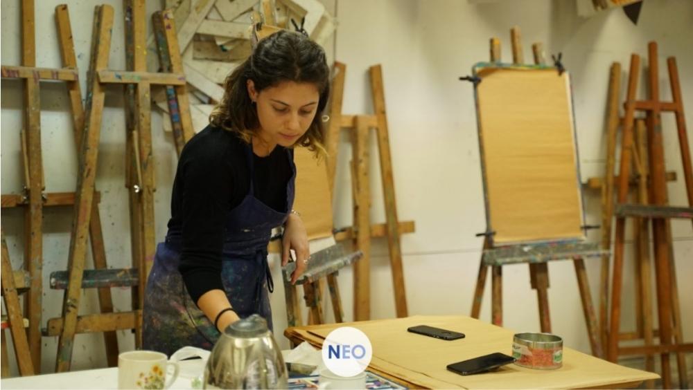 4 cours de 2h30 de peinture - Paris 7e