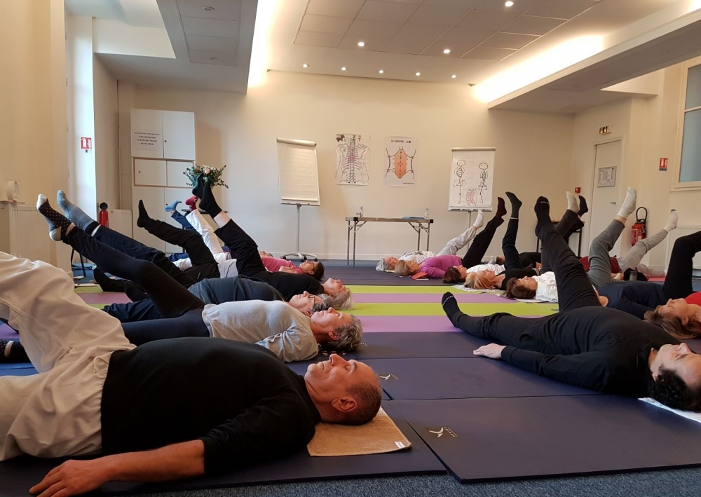 "Atelier d'ajustement postural japonais \""IMOTO SEITAI TAISÔ\"""