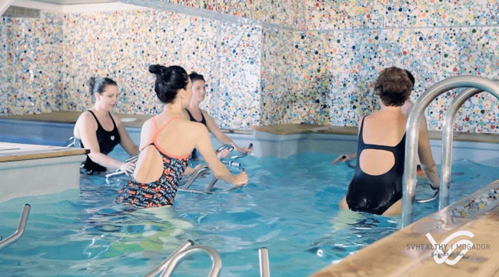 Aquabiking : Faites du vélo dans l'eau - Cours d'essai